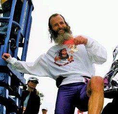 Ken Bob correr descalzo