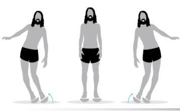 Ejercicio 2 plataforma inestable correr descalzo minimalista