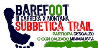 categoria barefoot minimalista subbetica trail
