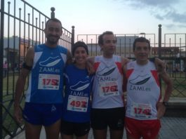corredores minimalistas carrera Nocturna CamaGC Mairena 2013