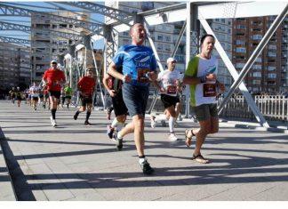 Maratón de Murcia en zapatillas minimalistas