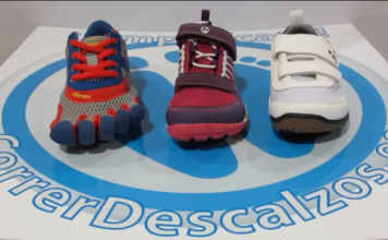 calzado infantil Merrell Vivobarefoot Vibram Fivefingers