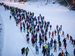 corredores minimalistas en Ternua Snowrunning Sierra Nevada
